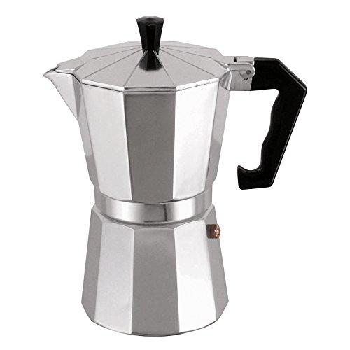 MSV Espressokocher Espresso Mokka Maker Kaffeebereiter Aluminium - 12 Tassen