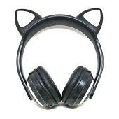 Tai nghe Bluetooth với tai mèo và dẫn chiếu sáng kitten không dây tai nghe exbom hf-c240bt