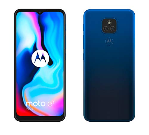 Motorola Moto E7 Plus - 6.5' Max Vision HD+, Qualcomm Snapdragon...