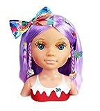 Nancy - Un Día de Secretos de Belleza Violeta, Busto de Peluquería y Maquillaje para Niños y Niñas a Partir de 3 Años, Multicolor, (Famosa 700015133)