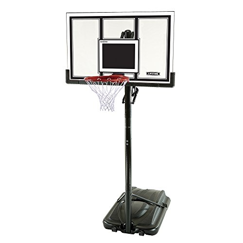 Lifetime 71524 XL Height Adjustable Portable Basketball System, 54...
