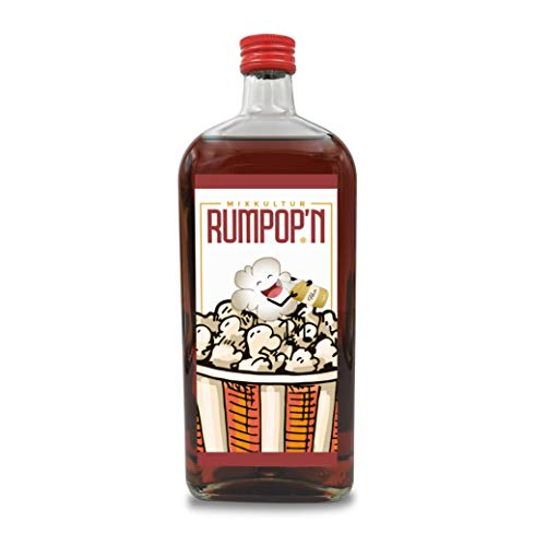 Rumpop'n | Shot-Schnaps | 700 ml | 20 % Likör | echter Rum
