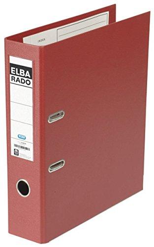 Elba 314895 - Raccoglitore dorso 80mm rosso