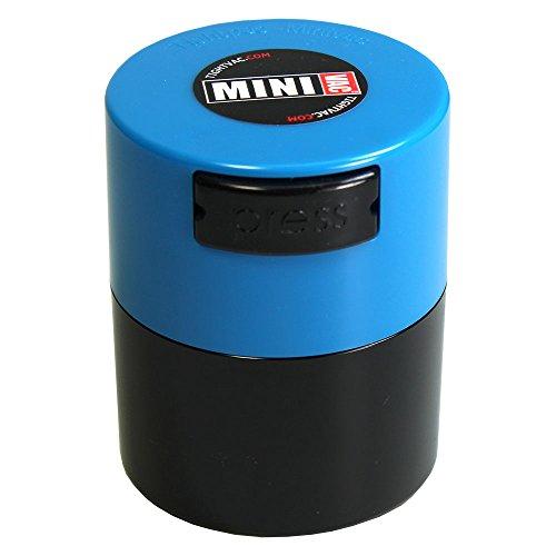 Tightpac America, Inc. TV1 Minivac Contenedor de Viaje y Especias, Azul (L Blue/Black), 40 g/0.12 L