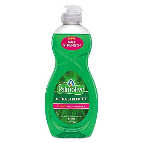 Palmolive 45094 Dishwashing Liquid, Ultra Strength, Original Scent, 10 oz Bottle, 16/Carton