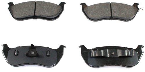 DuraGo BP881 C Rear Ceramic Brake Pad