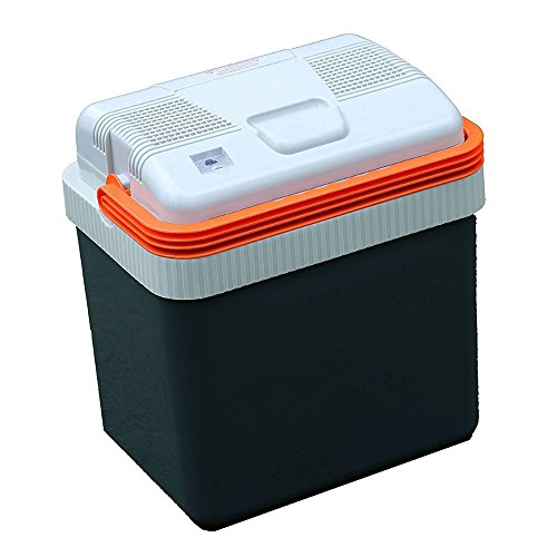 MATECH 車載用ポータブル温冷庫 車用冷蔵庫 ペルチェ方式 24L 12電源対応 キャンプ/緊急/BBQ/アウトドア 日本メーカー(長期2年保証)