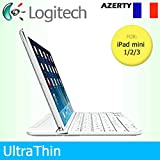 Logitech Étui à Clipser Ultra Fin aimanté pour Apple iPad Mini 1/2/3...