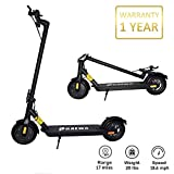 Phaewo Electric Scooter for Adult, 250W Motor 8.5' Non-Pneumatic Tires with Disc Brake, Up to 15.5 MPH & 17 Miles Folding Electric Scooter for Commute and Travel (Black)