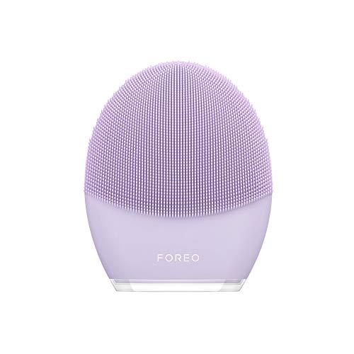 FOREO LUNA 3 - Cepillo de limpieza facial y masajeador reafirmante para un spa en casa, Sensitive Skin