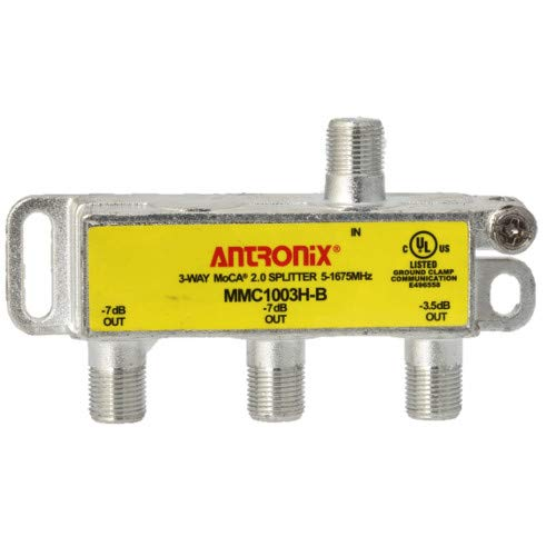 3 Way Antronix MMC1003H-B 5-1675 MHz MoCA 2.0 Splitter for Frontier Formerly Verizon Fios