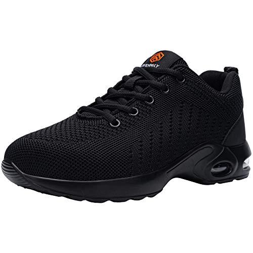 DKMILYAIR Zapatos de Seguridad Hombre Ligeras Respirable...