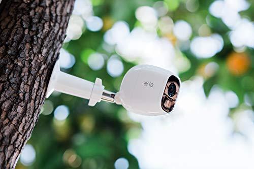41uDsjXnG2L Bon plan Arlo Pro 2 | Caméra de Surveillance WiFi sans Fils - Pack de 3, Batteries Rechargeables & Accessoire Arlo Bras de F...