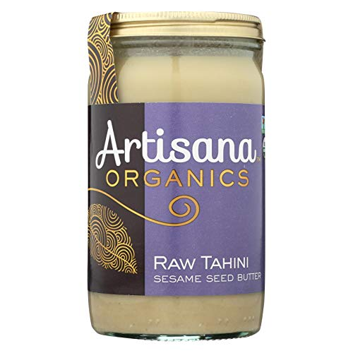 Artisana Organics Raw Tahini Sesame Seed Butter, 14-ounce Jars (Pack of 6)