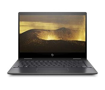 "HP ENVY x360 13-ar0015nf PC Ultraportable Convertible et Tactile 13,3"" FHD IPS Noir (AMD Ryzen 5, RAM 8 Go, SSD 512 Go, AZERTY, Windows 10)"
