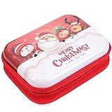 Cabilock Christmas Coin Purse Key Purse Holiday Coin Bag Wallet Xmas Gifts Bag Earphone Zipper Bag Caja para Niños Mujeres Niñas