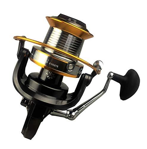 MissLi 12 + 1 Cuscinetti A Sfera Mulinelli da Pesca di Grandi Dimensioni Spinning 5000-9000 Mulinello da Pesca A Traina in Metallo Alimentatore per Mulinello da Carpa (Color : 3000 Series)