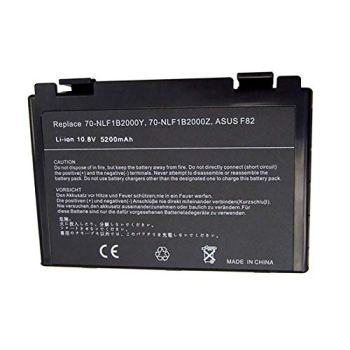 Bay Valley Parts Laptop Battery for Asus X5C K50IJ A32-F82 K40 K40IJ K50 K50AB K50I K50IN K61IC A32-F52 L0690L6 X5DIJ AS-K50 X70 X5A 07G016761875 [6 Cells/5200mAh/56Wh]
