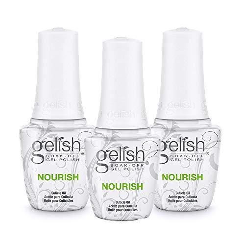Gelish Nourish Cuticle Oil, 3 pack