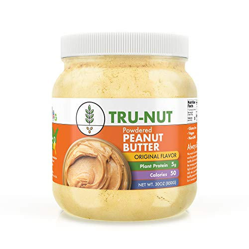 Tru-Nut Powdered Peanut Butter - 30 oz Jar