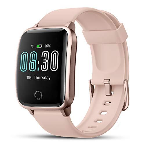 LIFEBEE Smartwatch, Reloj Inteligente Impermeable IP68 con...