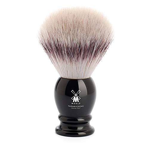 MÜHLE Classic Large Black Silvertip Fiber Shaving Brush