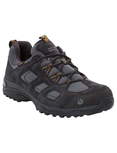 Jack Wolfskin Herren Vojo Hike 2 Texapore Low M Wasserdicht Trekking-& Wanderhalbschuhe, Grau (Phantom 6350), 43 EU