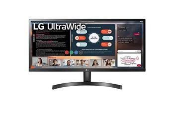 LG UltraWide 29WL50S-B, Moniteur 21:9 Full HD IPS 29'' (2560x1080, 5ms, sRGB 99%, HDMI, HDR, FreeSync, Hauts Parleurs)