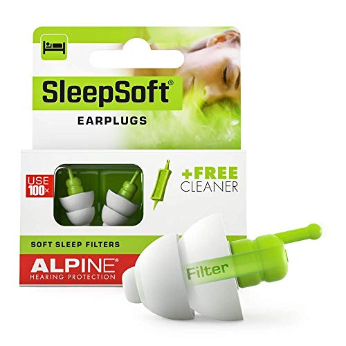 Alpine SleepSoft Bouchons d'oreilles : protections auditives pour le...