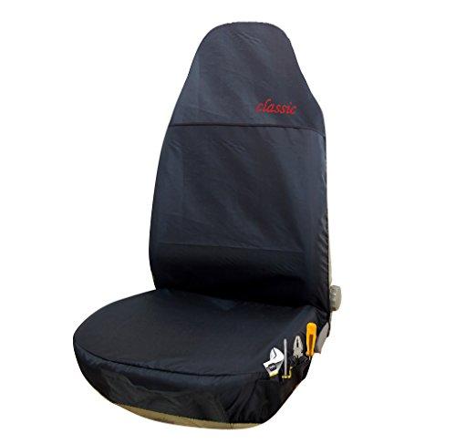 EUGAD 0113QCZT Auto Sitzbezüge Einzelbezug Werkstattschoner Sitzschoner Rot