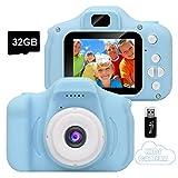 GlobalCrown Appareil Photo pour Enfants,Mini Caméra Numérique...