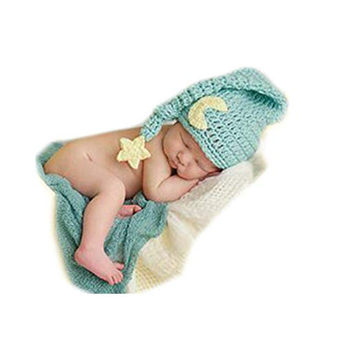 Fashion Newborn Boy Girl Baby Costume Knitted Photography Props...