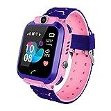 Zqtech Smart Watch for Kids GPS Tracker - IP67 Waterproof Smartwatches with SOS Voice Chat Camera Alarm Clock Digital Wrist Watch Smartwatch Girls Boys Birthday Presents