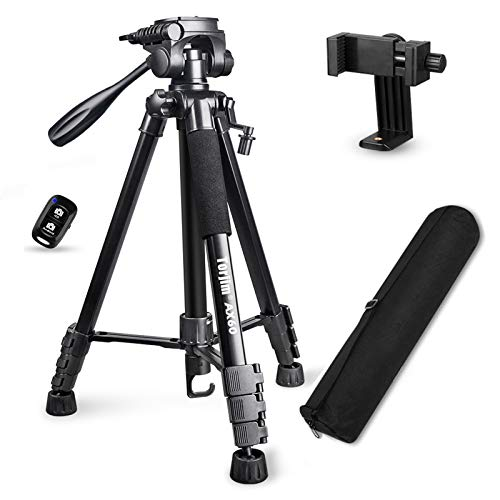 "Torjim 60"" Camera Tripod with Carry Bag, Lightweight Travel..."