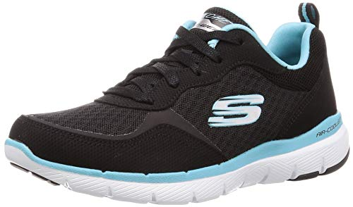 Skechers Womens Flex Appeal 3.0 Go Forward Lace Up Trainers