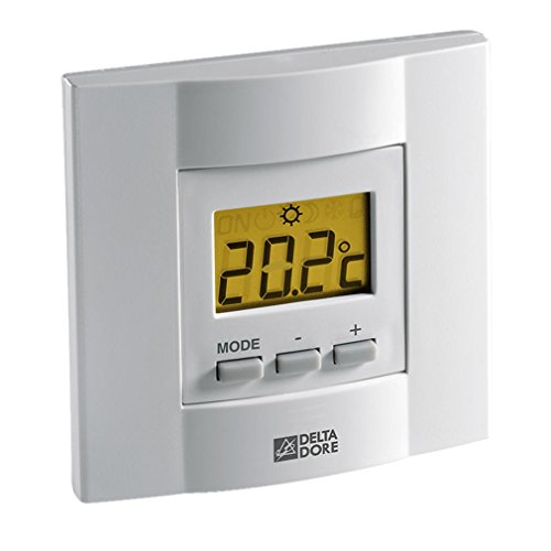 Thermostat d'ambiance filaire à touches