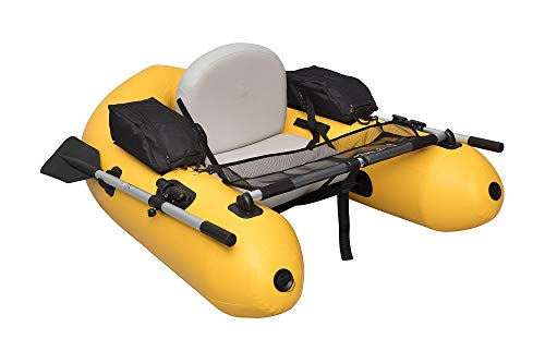 Wistar Fishing Inflatable Rafts Pontoon Float Tube Boat Set with Aluminum Oars and High Output Air...