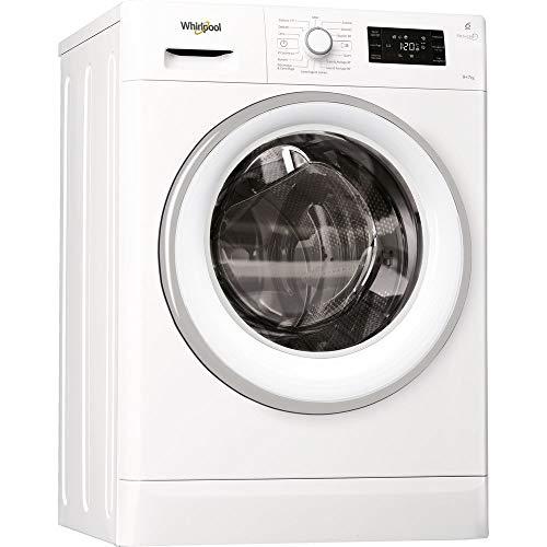 Whirlpool FWDG97168WS lavasciuga Caricamento frontale Libera installazione Bianco A