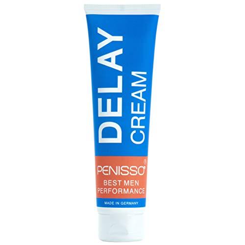 Penisso Delay Penis-Creme   Made in Germany   Potenzmittel zum Auftragen auf den Penis   für ausdauerndes Sex-Vergnügen   natürliche Zutaten, sanft zur Haut   Inhalt 100 ml