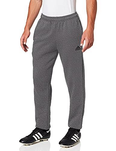adidas Core 18 Pantalon de randonnée Homme, Gris Foncé Chiné/Noir, L