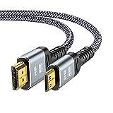 Câble Mini HDMI vers HDMI 1,8 M - Snowkids 4K Câble Mini HDMI Plug-Play...