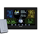 Weather Station Wireless Indoor Outdoor,Weather Forecast Station Thermometer Hygrometer with...