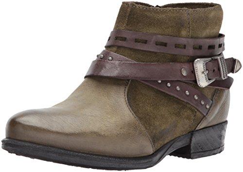 Miz Mooz Women's Dublin Ankle Boot, Army, 39 M EU (8.5-9 US)