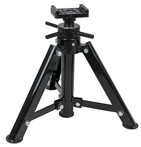 KS Tools 160.0441 Stahl-Spindel-Unterstellbock, 12t, 456-710mm