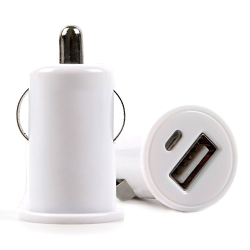 DURAGADGET 1-Amp Socket in-Car Cigarette Charger - Compatible with The Bluephonic DeepBassX