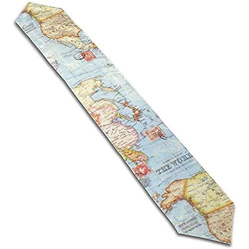 GABRI 13X90inch Atlas World Map Chemin de Table de Voyage Bleu Chemin de...
