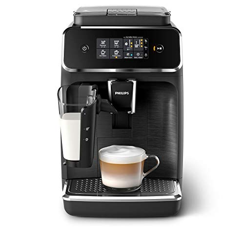 Philips 2200 Serie (SensorTouch Benutzeroberfläche) Schwarz/Mattschwarz Macchina da caffè...