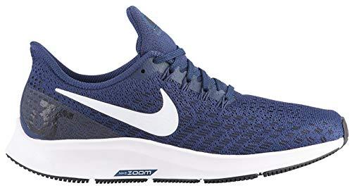 Nike Womens Air Zoom Pegasus 35 Running Shoes (7 M US, Midnight Navy/White/Black)