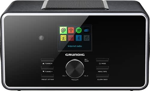 Grundig DTR 6000 X Portable Analogique et numérique Noir