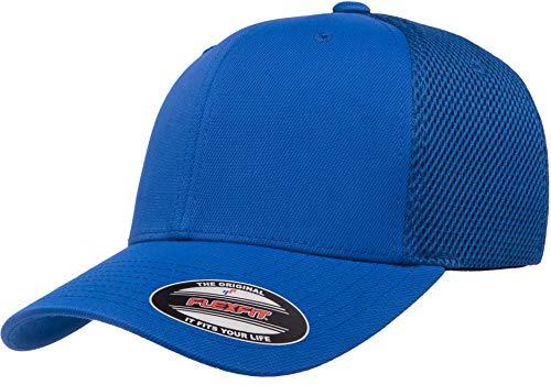 Flexfit Ultrafibre Airmesh Fitted Cap, Royal, S/M